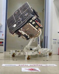Solar Orbiter in the test center,